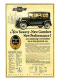 GM Chevrolet-New Beauty Comfort Posters