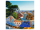 Gaudi's Park Guell Barcelona Posters