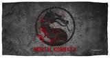Mortal Kombat X - Stone Logo Beach Towel Beach Towel