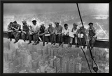 Lunch Atop a Skyscraper, c.1932 Print by Charles C. Ebbets