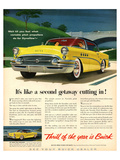 GM Buick-Like a Second Getaway Poster
