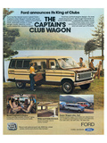 Ford 1979 Captain's Club Wagon Poster