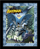 Batman Dark Knight Of Gotham 3D Framed Art Print