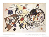 Durchgehender Strich Collectable Print by Wassily Kandinsky