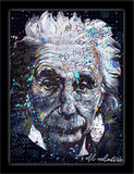 Einstein 3D Framed Art Pósters por Stephen Fishwick