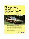 Ford 1971 Shopping for 2Nd Car Prints