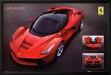 Ferrari Laferrari Car Poster Posters