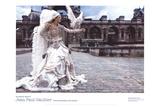 Grafficouture, Raquel Zimmermann, Vogue (Paris) Posters av Mario Sorrenti