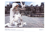 Grafficouture, Raquel Zimmermann, Vogue (Paris) Prints by Mario Sorrenti