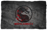 Mortal Kombat X - Stone Logo Fleece Blanket Fleece Blanket