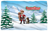 Santa Claus Is Comin To Town - Kris And Topper Fleece Blanket Fleece Blanket
