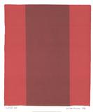 Canto XIV Reproduction pour collectionneur par Barnett Newman