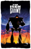 Iron Giant - Poster Fleece Blanket Fleece Blanket
