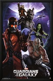 Guardians of the Galaxy - Group Print
