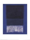 Mark Rothko - No. 14 White and Greens in Blue - Reprodüksiyon