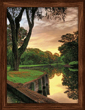 Golf Harbour Town 3D Framed Art Poster