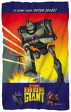 Iron Giant - It Came From Space Fleece Blanket Fleece Blanket