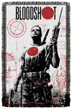 Bloodshot - Take Aim - Woven Throw Throw Blanket
