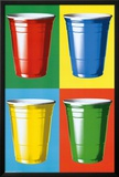 Party Cups Pop Art Posters