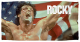 Rocky - American Hero Beach Towel Beach Towel
