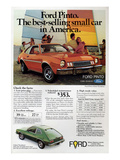 Ford 1977 Pinto - Bestselling Poster