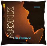 Thelonious Monk - In France Throw Pillow Throw Pillow