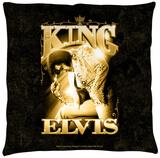 Elvis - The King Throw Pillow Throw Pillow