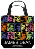 James Dean - Color Block Tote Bag Tote Bag