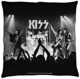 Kiss - Staged Throw Pillow Throw Pillow