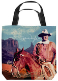 John Wayne - Monument Man Tote Bag Tote Bag
