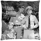 Andy Griffith - Lawmen Throw Pillow Throw Pillow