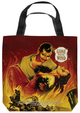 Gone With The Wind - Fire Poster Tote Bag Tote Bag