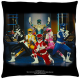 Power Rangers - Stance Throw Pillow Throw Pillow