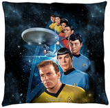 Star Trek - Among The Stars Throw Pillow Throw Pillow