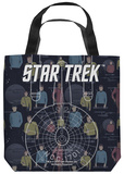 Star Trek - Enterprise Crew Tote Bag Tote Bag