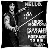 Princess Bride - Hello Again Throw Pillow Throw Pillow