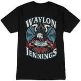 Waylon Jennings- Lonesome Onry & Mean T-shirts