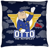 Airplane - Otto Throw Pillow Throw Pillow