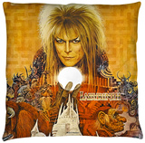 Labyrinth - Crystal Ball Throw Pillow Throw Pillow