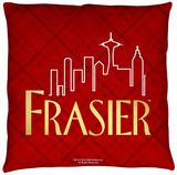 Frasier - Logo Throw Pillow Throw Pillow