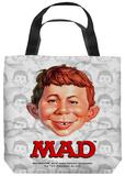 Mad - Alfred Head Tote Bag Tote Bag