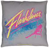 Flashdance - Drop Throw Pillow Throw Pillow