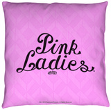 Grease - Pink Ladies Throw Pillow Throw Pillow