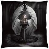 Anne Stokes - Prayer For The Fallen Throw Pillow Throw Pillow
