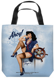 Bettie Page - Ahoy Tote Bag Tote Bag