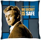 Mentalist - No Secrets Throw Pillow Throw Pillow