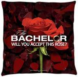 Bachelor - Rose Petals Throw Pillow Throw Pillow