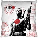 Bloodshot - Take Aim Throw Pillow Throw Pillow
