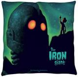Iron Giant - Look To The Stars Throw Pillow Throw Pillow