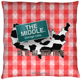 Middle - Been There Throw Pillow Throw Pillow